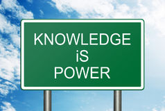 Knowledge Is Power Concept Stock Photo