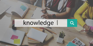 Knowledge Power Education Career Insight Concept royalty free stock photo