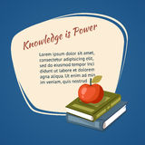 Knowledge Is Power Poster Stock Photography