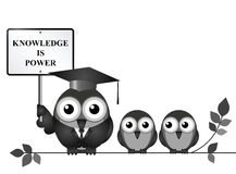Knowledge is Power Stock Photography