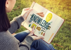 Knowledge School Course Degree Graphics Concept Royalty Free Stock Photo