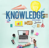 Knowledge School Course Degree Graphics Concept Royalty Free Stock Photography