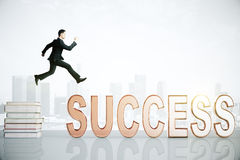 Knowledge to success concept Stock Photography