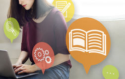 Knowledge Training Learning Skills Education Concept Royalty Free Stock Photography