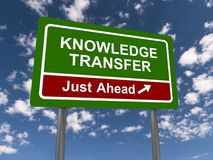 Knowledge transfer Royalty Free Stock Images