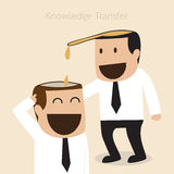 Knowledge transfer Stock Photography