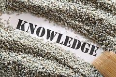 Knowledge -- treasure word series Stock Images