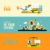 Knowledge is wealth concept Royalty Free Stock Photography