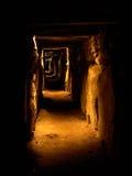 Knowth Durchführung-Grab lizenzfreie stockbilder