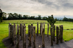 Knowth Woodhenge Fotografia Stock
