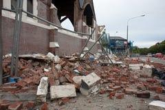 Knox Church damage Royalty Free Stock Image