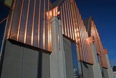 Knox Church Rebuild bijna Volledig in Christchurch Stock Foto's