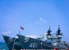 Knox Class Frigate. Of Thai NAVI Stock Images