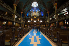 Notre-Dame Basilica (Montreal) Royalty Free Stock Photos