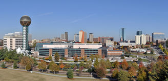 Knoxville. A view of the skyline of Knoxville, Tennessee Royalty Free Stock Image