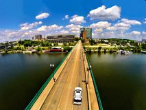 Knoxville bridge. Gay street bridge forever Stock Photos