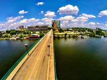 Knoxville Gay Street Bridge. Gay Street Bridge flyover Royalty Free Stock Photo