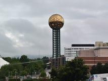 Knoxville słońca sfera obraz royalty free