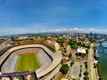Knoxville sobre estadio Imagen de archivo