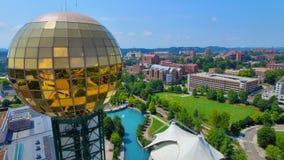 Knoxville Sunshpere zakończenie up Obraz Stock