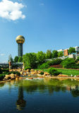 Knoxville Sunsphere Fotos de Stock