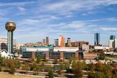 Knoxville Tennessee Skyline Stock Photos