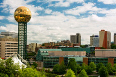 Knoxville Tennessee. Sunsphere in Downtown Knoxville Tennessee. United States of America Royalty Free Stock Photos