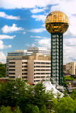 Knoxville Tennessee. Sunsphere in Downtown Knoxville Tennessee. United States of America Stock Images