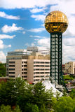 Knoxville Tennessee. Sunsphere in Downtown Knoxville Tennessee. United States of America Stock Photography