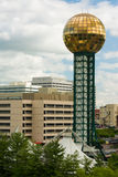Knoxville Tennessee. Sunsphere in Downtown Knoxville Tennessee. United States of America Stock Photos