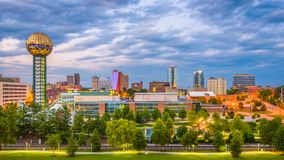 Knoxville, Tennessee, USA Skyline Stock Photography