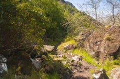 The Knoydart Trail Stock Image