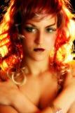 Künstlerische Kosmetik Lizenzfreie Stockfotos