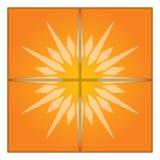 Künstlerische Sonne Auch im corel abgehobenen Betrag Lizenzfreie Stockbilder