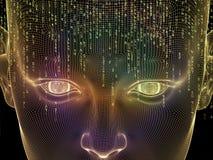 Künstlicher Verstand Stockbild