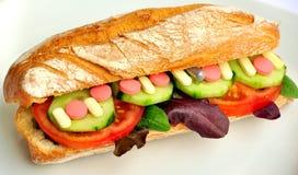 Künstliches Nahrungsmittelkonzept Lizenzfreies Stockbild