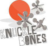 Knuckle Bones Royalty Free Stock Photos
