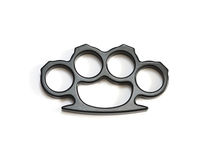 Knuckle-duster Crime Violence Isolated Stock Photos