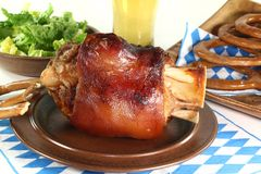 Knuckle of pork Royalty Free Stock Photos