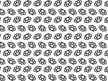 Knuckle seamless pattern Royalty Free Stock Photos