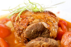 Knuckle of veal Royalty Free Stock Photo