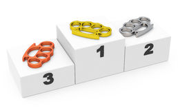 The knuckledusters Stock Photography