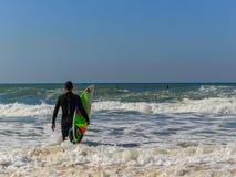 Knuppel-YAM strand stock fotografie
