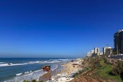 Knuppel-YAM strand Royalty-vrije Stock Afbeeldingen
