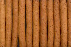Knusperige Brotsteuerkn?ppel Beschneidungspfad eingeschlossen lizenzfreie stockbilder