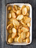 Knusperige gebratene Kartoffel lizenzfreies stockbild