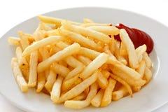 Knusperige Pommes-Frites lizenzfreie stockfotografie