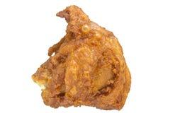 Knusperiger Fried Chicken Thigh Stockfotos