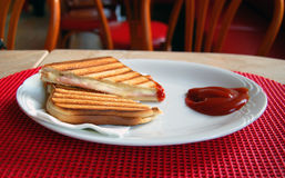 Knusperiger Toast Lizenzfreie Stockbilder
