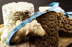 Knuspriges Brot und Ingwer Lizenzfreie Stockfotografie